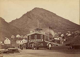 Comstock Lode - Bullion Mine, Virginia City, c.1875-77