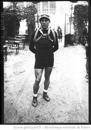 1913 Giro d'Italia - Image: Carlo Oriani Paris Tours 1913