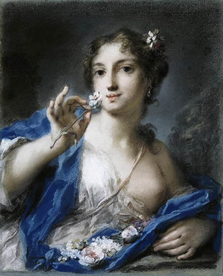 Carriera, Rosalba - Spring - c. 1725