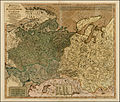 Carrington Bowles. Bowles's New One-Sheet Map of the Russian Empire In Europe, comprehending also the Empire in Asia. London 1785.jpg