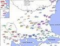 Carte répartition de l'ethnie Yörük dans les Balkans par tribu.jpg