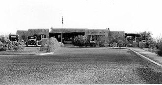 Casa Grande Ruins National Monument - Image: Casa Grande. Visitor Center