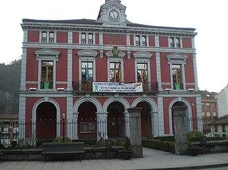 Aller, Asturias - Town Hall.