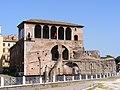 Casa dei Cavalieri di Rodi, Trajan's Forum, Rome - with flag.jpg