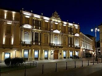 Cassa di Risparmio di Asti - Headquarters in Asti.