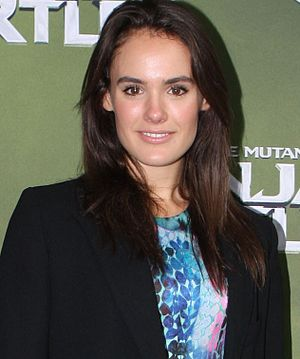 Andy Barrett - Cassie Howarth (pictured) plays Andy's love interest Hannah Wilson.