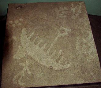 Petroglyphs Provincial Park - Cast of some of the petroglyphs