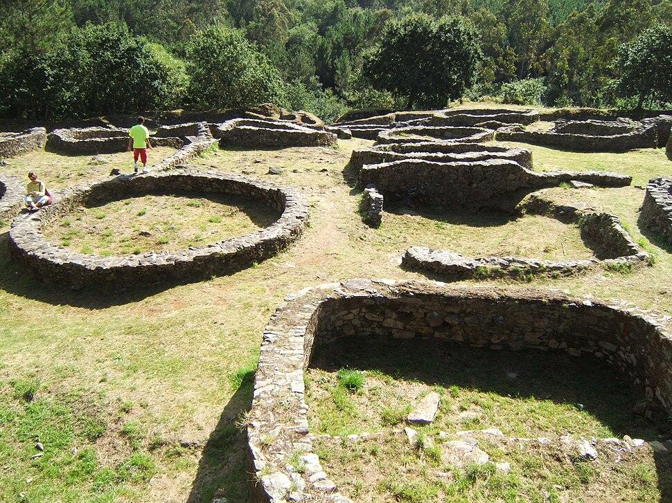 Cabana de Bergantiños tarihi kalıntıları.