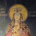 Catherine of Hungary, Queen of Serbia, St. Achilleos monastery, Arilje, 1296.jpg