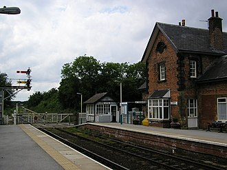 Cattal - Image: Cattal railway station