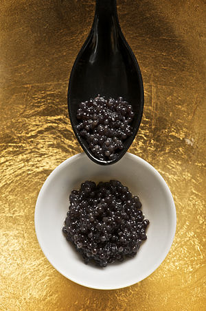 Specialty foods - Caviar has been described as a specialty food