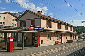 Celerina (Rhaetian Railway station) - Celerina station building