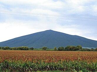 Guanajuato - Cerro Culiacán from Jaral del Progresso