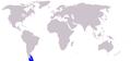 Cetacea range map Commerson's Dolphin.PNG