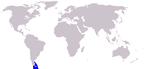 Commerson's dolphin range