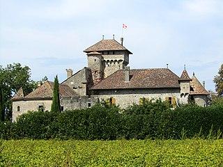 Brenthonne Commune in Auvergne-Rhône-Alpes, France