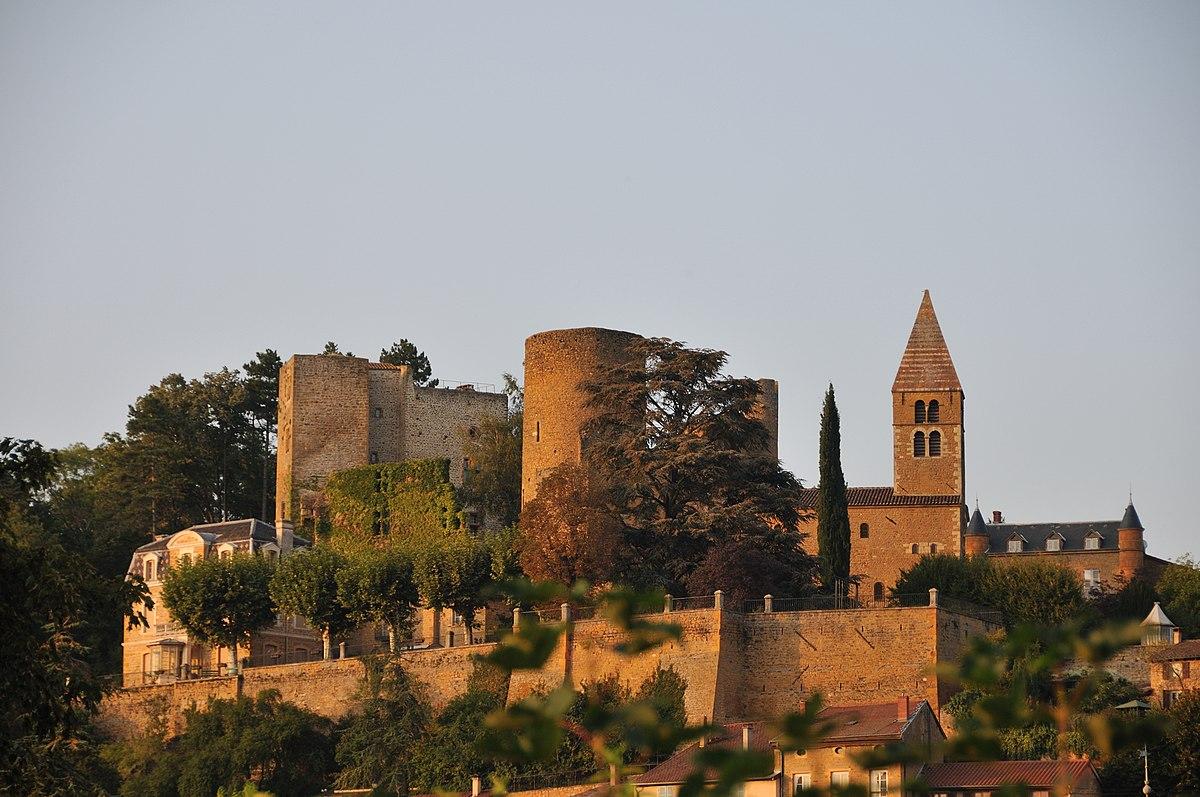 Château de Châtillon-d'Azergues - Wikipedia