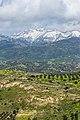 Chaîne du Mont Ida vue de Phaïstos Crete.jpg
