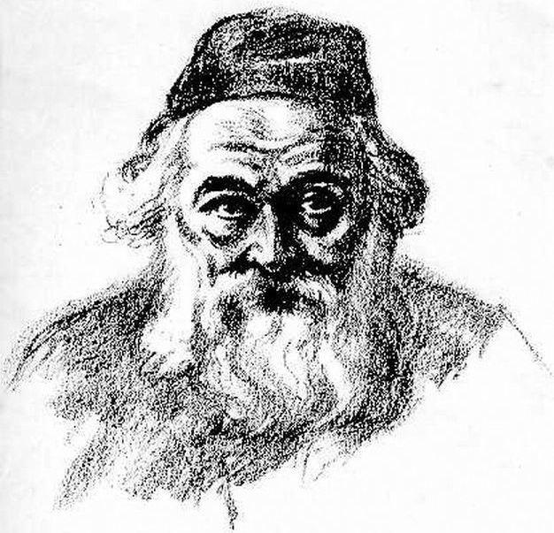 Chaim Soloveitchik by Hermann Struck