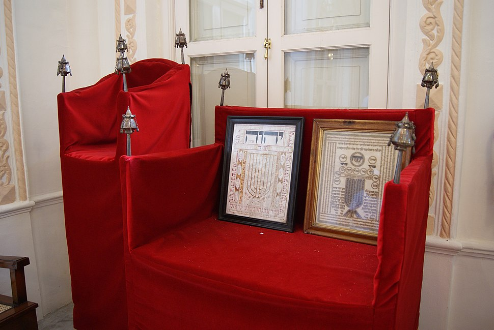 Chair of Elijah, Chesed-El Synagogue, Singapore - 20100815