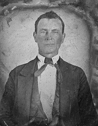 Champ Ferguson - Ferguson circa 1850s