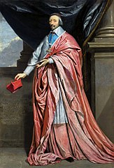 Portrait of Cardinal Richelieu