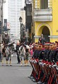 Changing of the guard, Lima presidential palace (6091614913).jpg