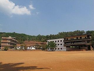 Chapparapadavu village in Kerala, India