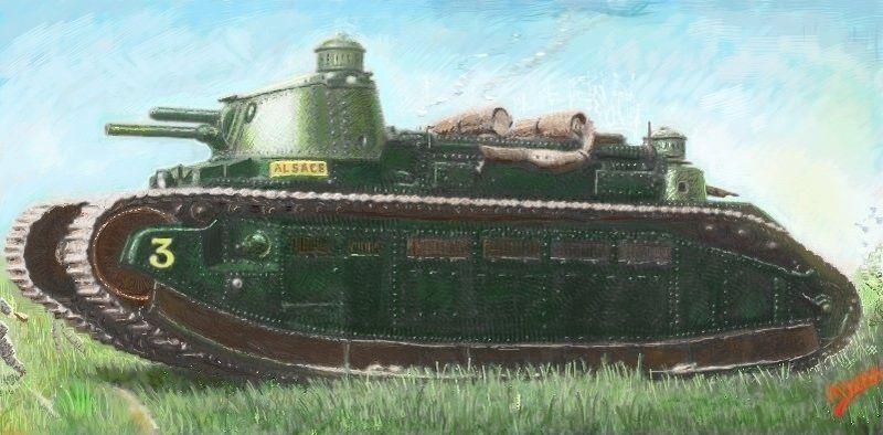 Char 2C super-heavy tank