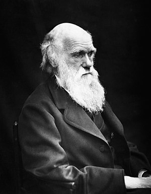 Charles Darwin (1809-1882) in his later years....