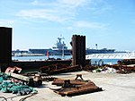 Charles de Gaulle in port of Le Havre.jpg