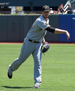 Charlie Morton on July 30, 2014.jpg