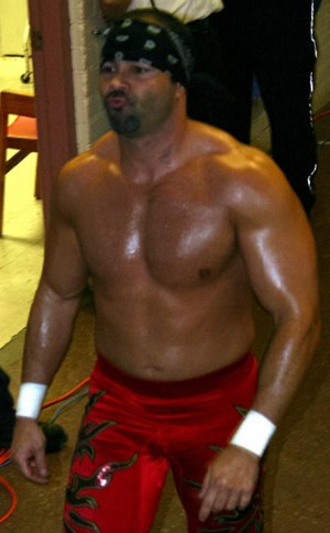 Chavo Guerrero Jr. - Guerrero makes his entrance at a WWE house show in Canada