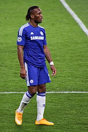 0ec0dd334aa7b2 Sponsored by Nike (he is pictured wearing Nike Mercurial Vapor boots)  Drogba teamed up with Nike and U2 frontman Bono to support an AIDS charity