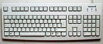 QWERTZ - A computer QWERTZ keyboard