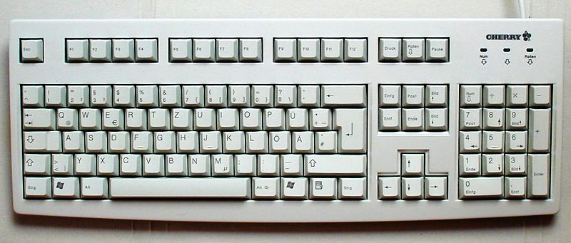 File:Cherry keyboard 105 keys.jpg