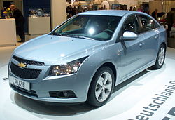 Chevrolet Cruze LT sedan (Eropa)