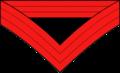 Chevron - Artillery Quartermaster Sergeant 1873-1902.png