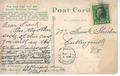 Chicago City Hall postage stamped November 9, 1914 postcard (back).tiff
