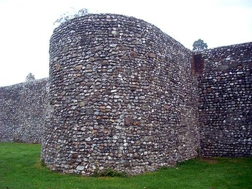 Chichester Roman walls 05