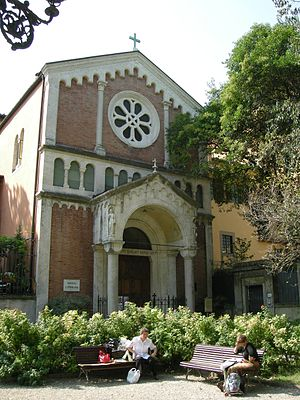 Lutheran Evangelical Church in Italy - Image: Chiesa protestante di firenze 02