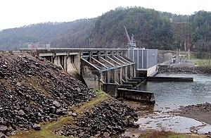 Chilhowee (Cherokee town) - Chilhowee Dam