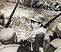 Chinese Student's Corps members starting for the front, Battle of Changsha, 1941-1942 (24516426076).jpg