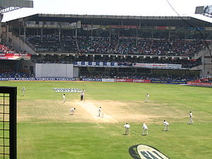 Sports in Karnataka - Chinnaswamy Stadium in Bangalore hosting an International cricket match
