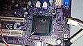 Chipset en ordenador de mesa con Intel Pentium 4.jpg