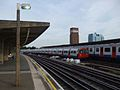 Chiswick Park stn eastbound look east with Piccadilly.JPG