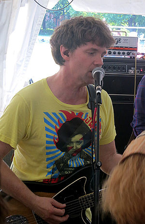 Chris Brokaw - Chris Brokaw performing with The Lemonheads in Boston 2014