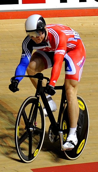 Great Britain at the 2008 Summer Olympics - Triple gold medallist Chris Hoy.