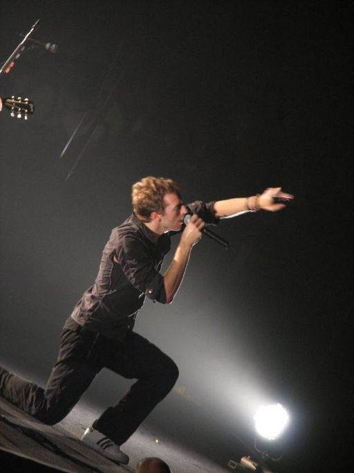 Chris Martin in Hong Kong