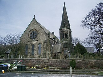 Parbold - Image: Christ Church, Douglas in Parbold geograph.org.uk 702768